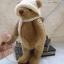 ตุ๊กตาหมีผ้าขนสีน้ำตาลกลางขนาด 19 cm. - Lilac thumbnail 6
