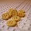 กระดุมขนาดเส้นผ่านศูนย์กลาง 12 mm. - yellow thumbnail 2