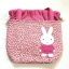 ** หมดค่ะ ** กระเป๋าหูรูด ลายกระต่าย สีชมพู thumbnail 3