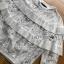 เสื้อจัมเปอร์ผ้าลูกไม้ตกแต่งพลีตเลเยอร์ thumbnail 5