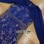ชุดเดรสผ้าลูกไม้สีน้ำเงินสด ทรงบอดี้คอน thumbnail 6