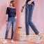 กางเกงยีนส์ผ้าฮองกงใส่สบาย thumbnail 3
