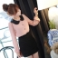 Chu ViVi เสื้อผ้าแฟชั่นแขนยาวผ้าซีฟอง thumbnail 2
