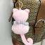 พวงกุญแจ ที่ห้อยกระเป๋า รูปแมวสีชมพูผูกโบว์ thumbnail 1