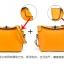 Maomaobag กระเป๋าสะพายแฟชั่นสีเหลือง ทรงเก๋ มินิไซส์ thumbnail 6