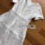 เดรสผ้าลูกไม้สีขาว thumbnail 7