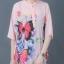 เสื้อทีเชิ้ตพิมพ์ลายผีเสื้อดอกไม้ thumbnail 4