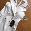 Dress สูทเดรสสีขาวสไตล์สมาร์ท thumbnail 7