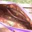 ** พร้อมส่งค่ะ ** กระเป๋าถือสะพายไหล่ ลายกุ๊กไก่ สีม่วง thumbnail 4