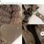 กระเป๋าแฟชั่นแบบสะพายสีน้ำตาลแต่งขนฟูด้านหน้าเก๋นะค่ะ thumbnail 10