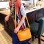 Maomaobag กระเป๋าสะพายแฟชั่นสีเหลือง ทรงเก๋ มินิไซส์ thumbnail 1