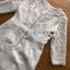 เดรสผ้าลูกไม้สีขาวทรงเบสิก thumbnail 6