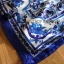 เดรสผ้าเครปพิมพ์ลายสีฟ้า-ขาวสไตล์แบรนด์ thumbnail 7