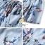ชุดเซท เสื้อ+กระโปรงโทนฟ้าลายดอกไม้ thumbnail 2
