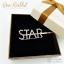 กิ๊บหนีบผมสีเงิน ตัวอักษร STAR ฝังเพชร thumbnail 1