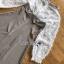 มินิเดรสผ้าลายสก็อตและผ้าชีฟองสีขาว thumbnail 6
