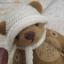 ตุ๊กตาหมีผ้าขนสีน้ำตาลกลางขนาด 19 cm. - Lilac thumbnail 1