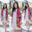 ชุดเดรส ผ้าซาตินญี่ปุ่น thumbnail 4