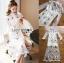 เดรสยาวออกงานผ้าลูกไม้ปักลายสไตล์ sretsisแนวหวานแบบเจ้าหญิง thumbnail 6