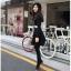 Chu ViVi เดรสแฟชั่นแขนยาวผ้านิตติ้งเนื้อนิ่ม thumbnail 5