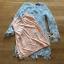 เดรสผ้าลูกไม้สีฟ้าอ่อนทรงบอดี้คอน thumbnail 5