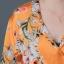 เสื้อเชิ้ตแขนยาวพิมพ์ลายดอกไม้ thumbnail 7