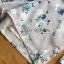 เพลย์สูทขาสั้นผ้าโพลีเอสเตอร์พิมพ์ลายดอกไม้ thumbnail 7
