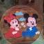 ลาย Mickey Mouse รุ่นไม่มีพนักพิง โต๊ะ ขนาด 18*20 นิ้ว จำนวน 1 ตัว เก้าอี้ ขนาด 10*10 นิ้ว จำนวน 4 ตัว ผลิตจากไม้จามจุรีแท้ ไม่ใช่ไม้อัด รับน้ำหนักได้ถึง 70 กก. thumbnail 2