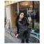 Chu ViVi เดรสแฟชั่นแขนกุดคอปกผ้ายืดเนื้อหนา thumbnail 3