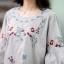 เสื้อ งานปักดอกไม้ thumbnail 5