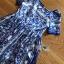 เดรสผ้าเครปพิมพ์ลายสีฟ้า-ขาวสไตล์แบรนด์ thumbnail 6