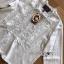 เดรสผ้าคอตตอนสีขาวตกแต่งลูกไม้สไตล์วินเทจ thumbnail 5