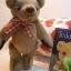 ตุ๊กตาหมีผ้าขนสีน้ำตาลขนาด 13 cm. - Herbie thumbnail 3