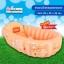ส้ม อ่างอาบน้ำเด็กนิรภัยแบบพกพา มีกันลื่น เนื้อหนา คุณภาพดีมาก แถม 1. ปั้มลมแบบเหยียบ 2. พลาสติกสำหรับซ่อมแซม thumbnail 1