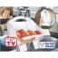 ลดราคาสุด ๆ Home Studio ตะกร้าล้างผัก Flat Fold Colander - White thumbnail 3