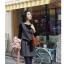 Chu ViVi เดรสแฟชั่นแขนกุดคอปกผ้ายืดเนื้อหนา thumbnail 1