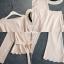 ชุดเซ็ท เสื้อ+กางเกง เนื้อผ้าเซิท ใส่สบาย thumbnail 4