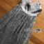 เดรสยาวผ้าทูลเลสีเทาแต่งกากเพชรสีเงิน thumbnail 6