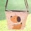 ** พร้อมส่งค่ะ ** กระเป๋าสะพายข้าง ลายหมาน้อย สีน้ำตาล thumbnail 6