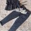 เซตเสื้อกั๊กแขนกุด มาพร้อมกางเกงสีเทา thumbnail 4