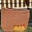 ** พร้อมส่งค่ะ ** กระเป๋าสะพายข้าง ลายแมวน้อย สีน้ำตาล thumbnail 6