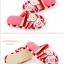 พร้อมส่ง รองเท้าแตะน้องหมีน่ารัก สีแดง thumbnail 2