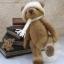 ตุ๊กตาหมีผ้าขนสีน้ำตาลกลางขนาด 19 cm. - Lilac thumbnail 2