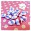 HMB1-5 : กระดุมปั๊มผ้า cotton 100% handmade ขนาด 1 cm- (1 แพคบรรจุ 12เม็ด ) thumbnail 2