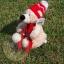 หมีขาวนุ่มนิ่ม ขนาด 19 ซม. thumbnail 1