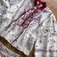 เซ็ตเสื้อและกางเกงผ้าลินินปักลายสไตล์โบฮีเมียน thumbnail 6