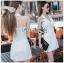 Dress สูทเดรสสีขาวสไตล์สมาร์ท thumbnail 2