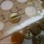 กระดุมขนาดเส้นผ่านศูนย์กลาง 11 mm. - clear brown thumbnail 2