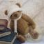 ตุ๊กตาหมีผ้าขนสีน้ำตาลกลางขนาด 19 cm. - Lilac thumbnail 3