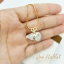 สร้อยคอสีทอง จี้หินมงคลรูปน้ำเต้าสีขาว thumbnail 4
